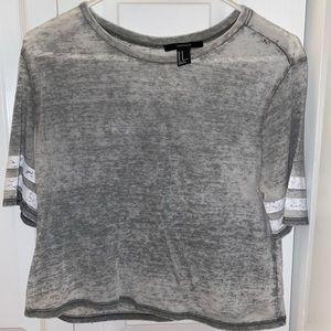 Forever21 Basic Grey Shirt